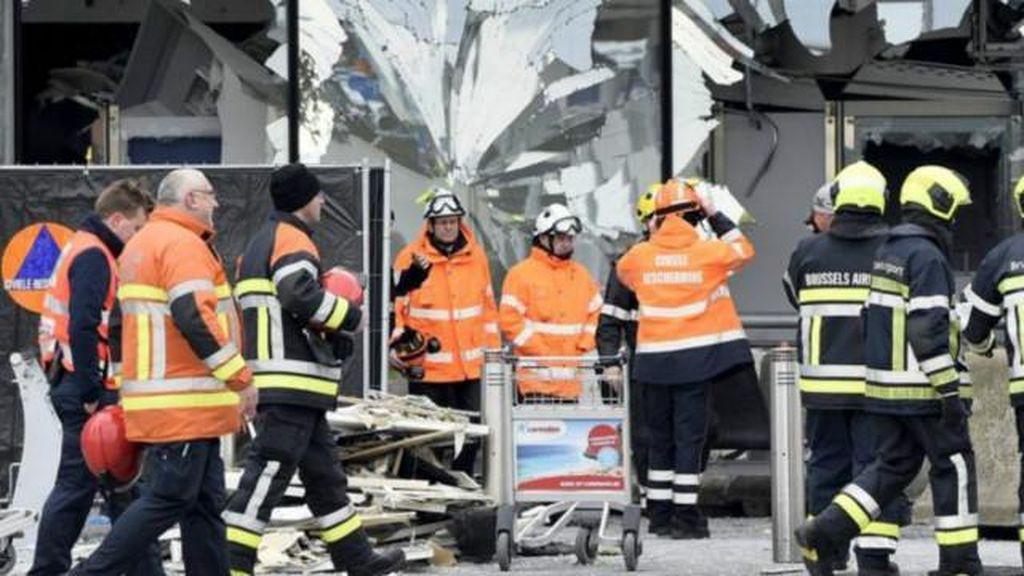 Puluhan Korban Bom Brussels Masih Kritis