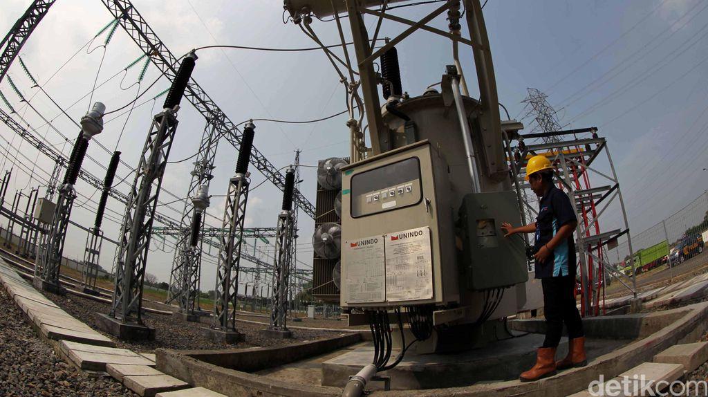 Ada Gardu yang Tersambar Petir, Listrik di Sebagian Wilayah Jakarta Padam