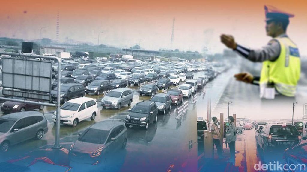 Polisi akan Buka-Tutup Rest Area Jika Kepadatan di Gerbang Tol Capai 5 Km