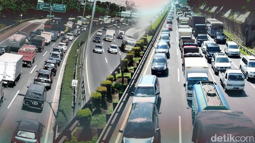 Ini Sebaran Jumlah Kendaraan Keluar-Masuk Jakarta per Jumat Sore