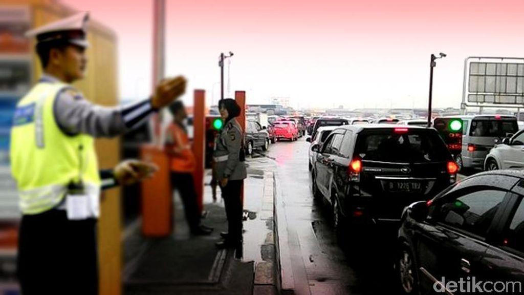 Ini Data Jumlah Kendaraan yang ke Luar Jakarta di Libur Panjang Akhir Pekan