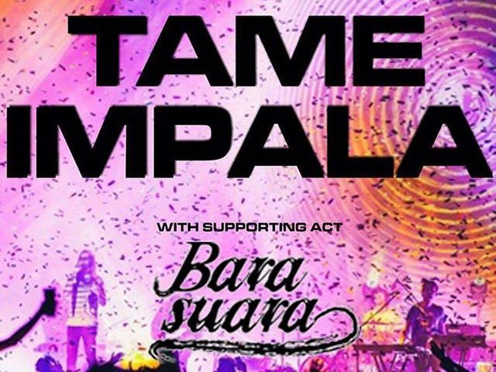 Barasuara Membara Buka Konser Tame Impala