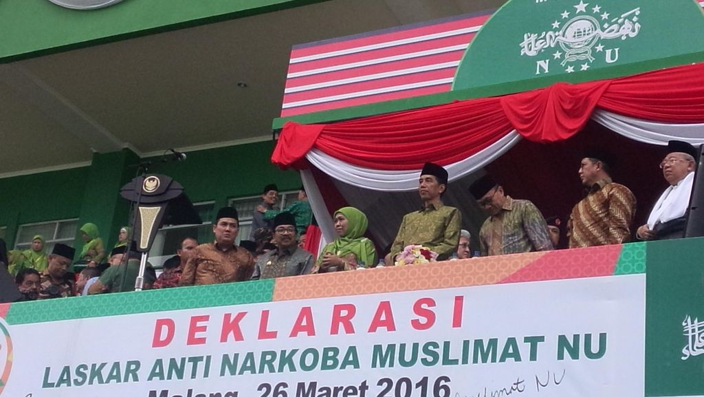 Presiden Jokowi Hadiri Harlah ke-70 Muslimat NU di Malang