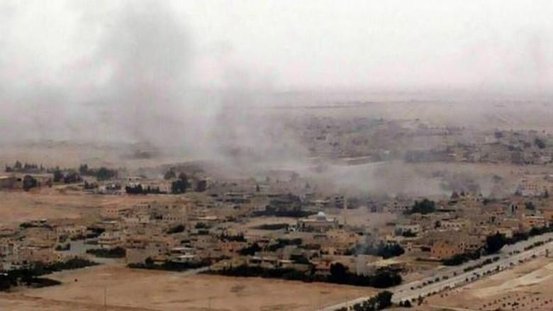 Pasukan Pemerintah Suriah Merebut Kembali kota Kuno Palmyra dari ISIS
