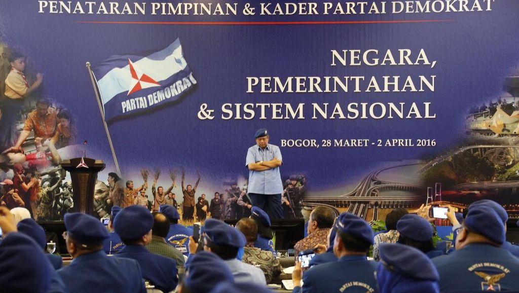Akhiri Pelatihan, SBY Berharap Kader Demokrat Bisa Dapatkan Keppres