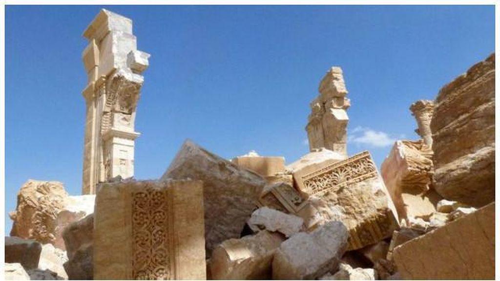 Kota Kuno Palmyra Ternyata Tidak Sepenuhnya Hancur