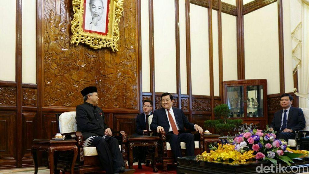 Temui Presiden Vietnam, Dubes RI yang Baru Janji Perkuat Kerja Sama