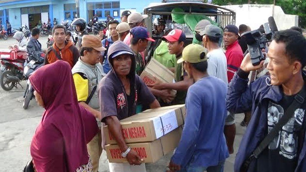 Naskah UN SMA di Kepulauan Sumenep Mulai Didistribusikan