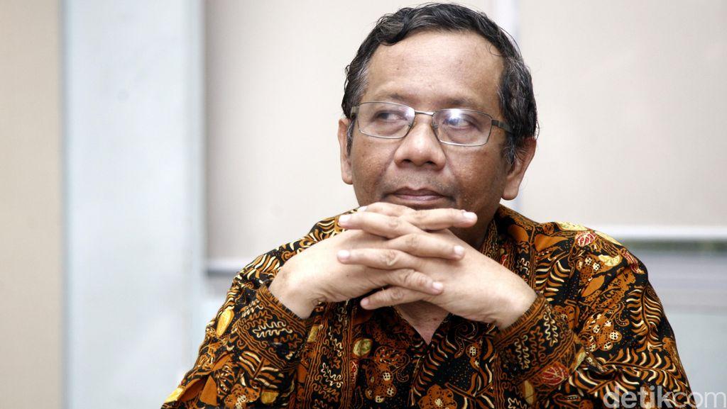 Mahfud MD Soal Permintaan Maaf Saut: Kalau Sudah Minta Maaf ya Selesai