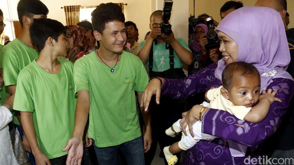 Mensos Khofifah: Ada 4,1 Juta Anak Terlantar Butuh Perlindungan