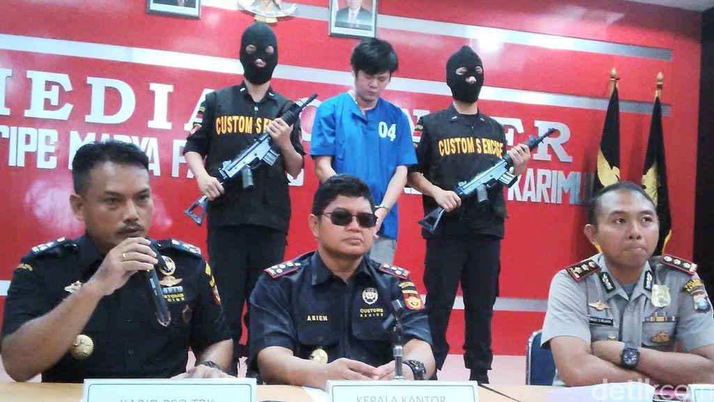 Residivis Asal Malaysia Ditangkap Ditangkap Saat Selundupkan Ekstasi ke Kepri