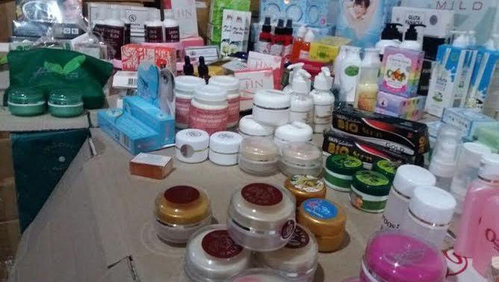 BPOM Gerebek Empat Ruko di Jakbar yang Jadi Pabrik Kosmetik Ilegal