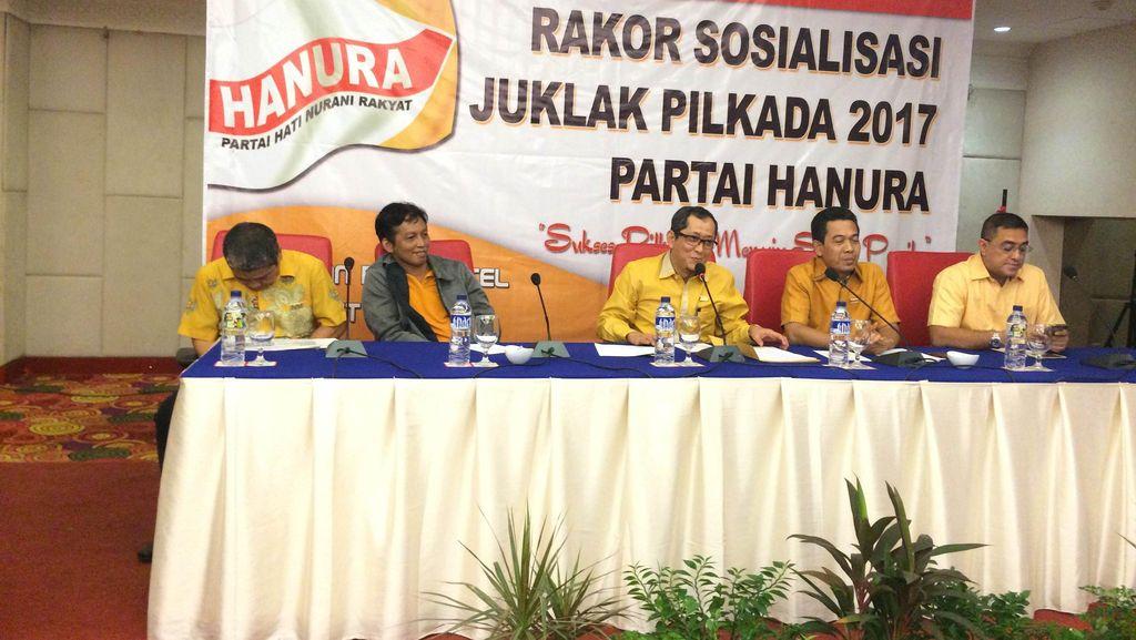 Hanura Buka Pendaftaran Calon Kepala Daerah, Biayanya Rp 50 Juta/Orang