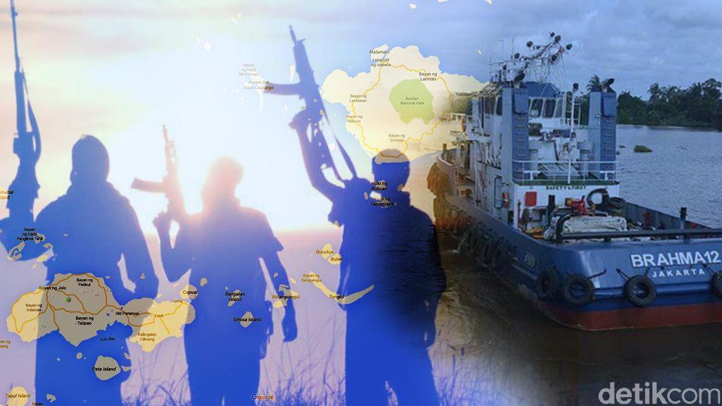 10 WNI Di-drop Penyandera di Luar Rumah Gubernur Sulu, Ini Identitasnya