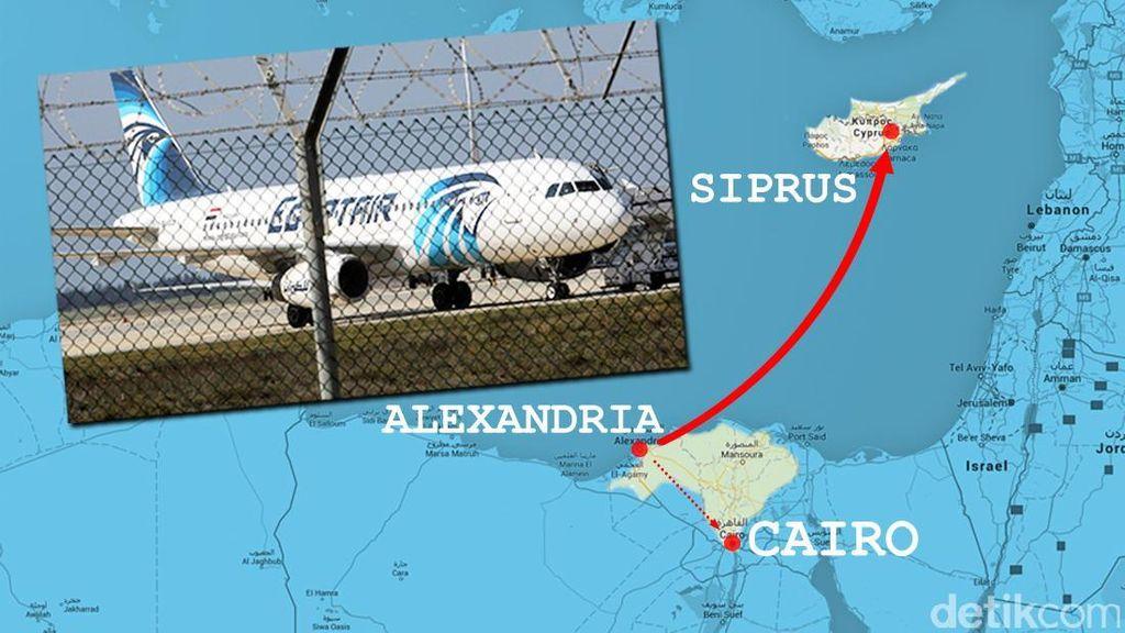 Kemlu: Tidak Ada WNI di Pesawat EgyptAir yang Dibajak