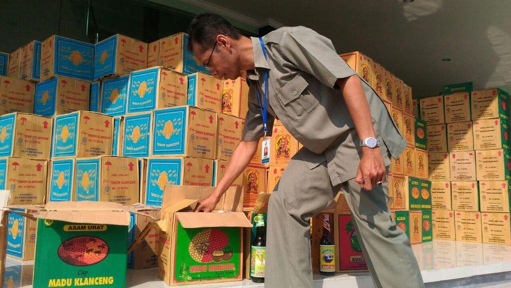BPOM DIY Amankan Belasan Ribu Botol Jamu Tradisional Ilegal