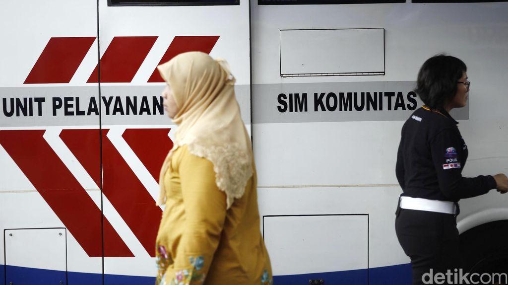 Stok Kartu SIM Habis, Polrestabes Bandung Ganti Sementara dengan Resi