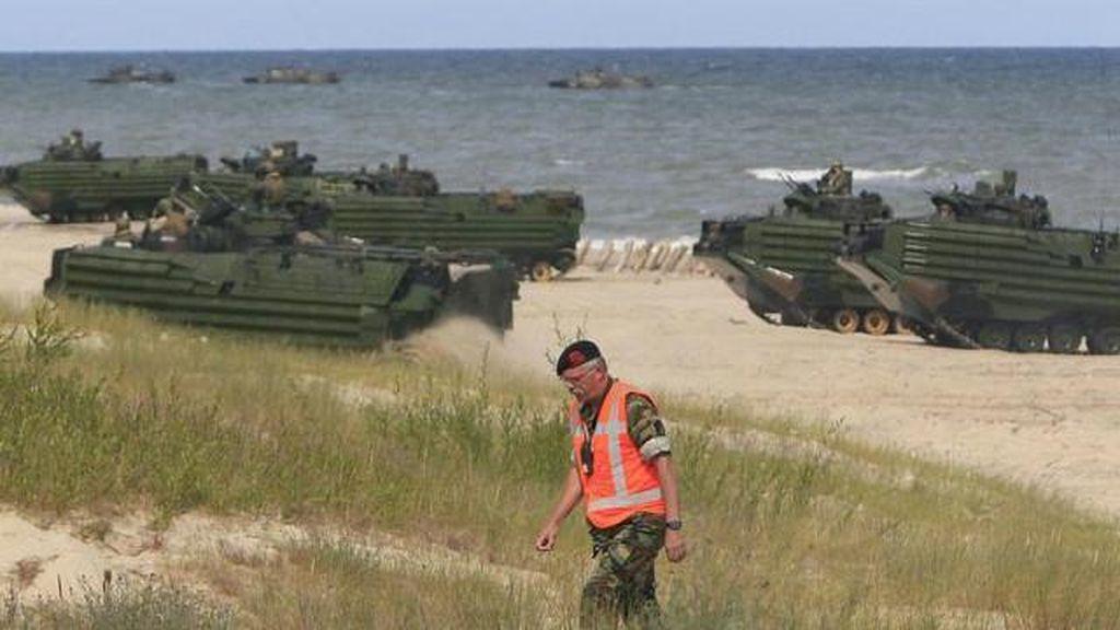 AS Tingkatkan Kehadiran Militer di Eropa timur