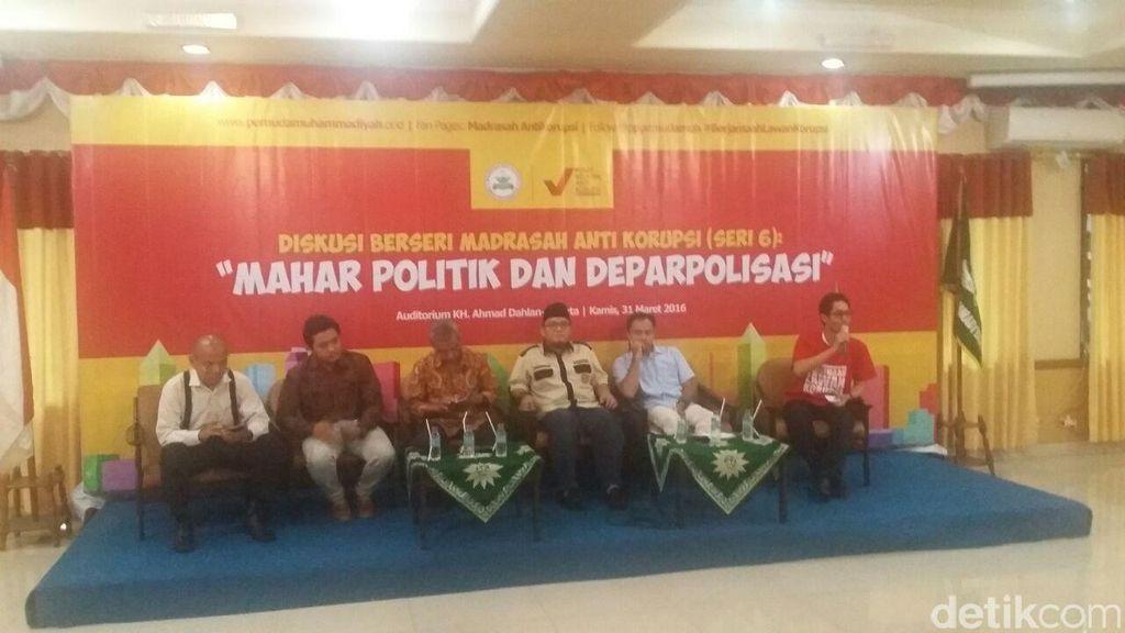 ICW: Suap Jadi Faktor Tingginya Biaya Politik di Indonesia