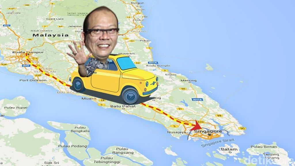 La Nyalla Diamankan Imigrasi RI Setelah Dideportasi Singapura