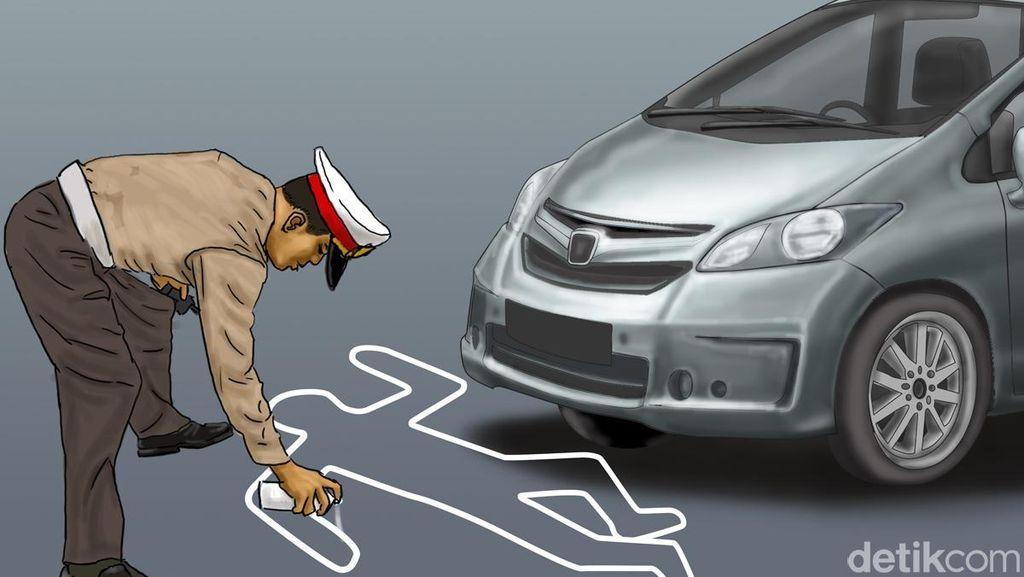 Pengemudi Chevrolet Tabrak Warung Pecel di Bandung, 12 Orang Luka