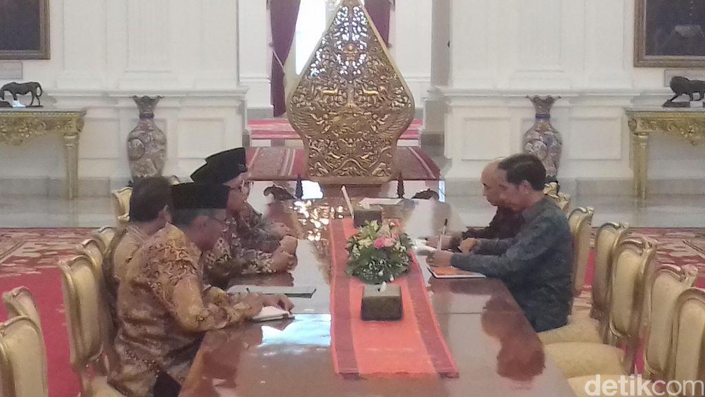 Sambangi Istana, PP Muhammadiyah Beri Masukan ke Presiden