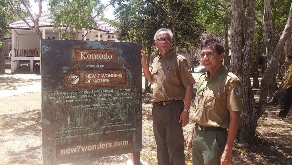 Monumen New 7 Wonder Pulau Komodo Akan Dibuat Lebih Megah Agar Dilirik Turis
