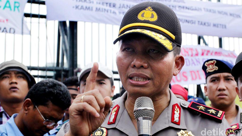 Kapolda Metro Imbau Massa Buruh Taati Aturan Jam Batas Aksi