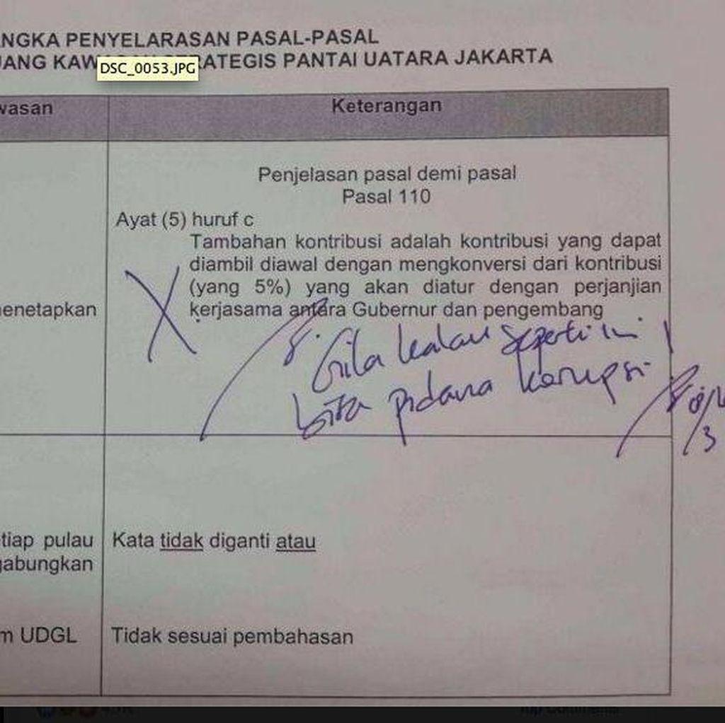 Di Depan Hakim, Ahok Cerita Soal Disposisi Gila Untuk DPRD
