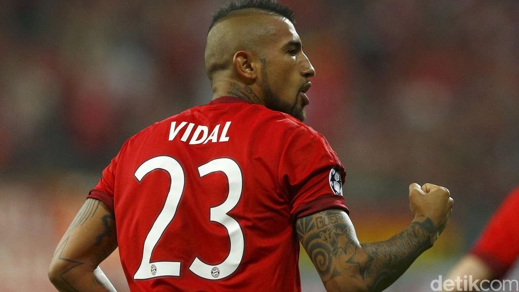 Vidal Sebut Juve Makin Kuat, tapi Bayern Tetap yang Paling Tangguh
