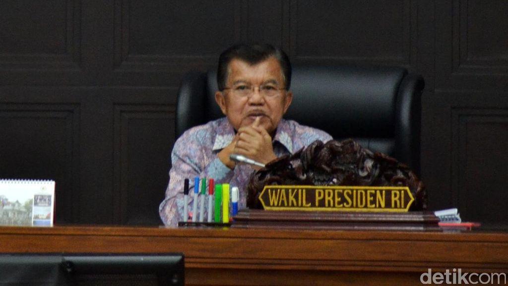JK Mengaku Belum Bicarakan Pengganti Arcandra Tahar dengan Jokowi