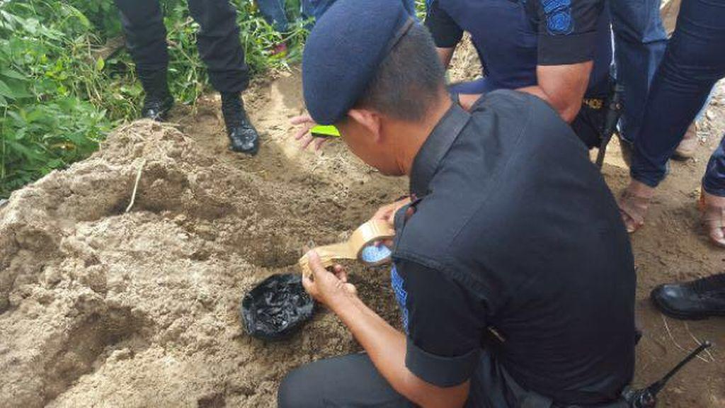 Warga Palembang Temukan Granat Aktif di Halaman Rumahnya
