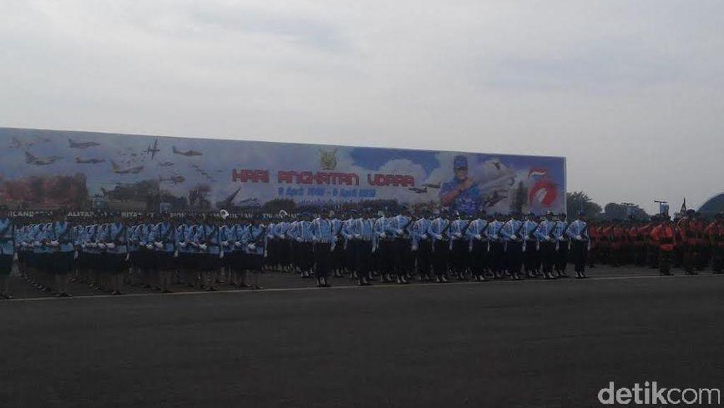 Perayaan HUT ke-70 TNI AU Dimeriahkan Atraksi Pesawat di Halim