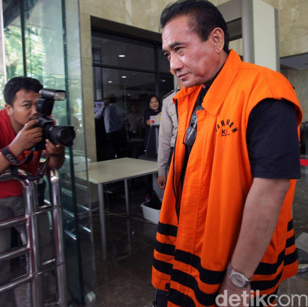 Terpidana Korupsi Ichsan yang Menyuap Pejabat MA Dituntut 4 Tahun Penjara