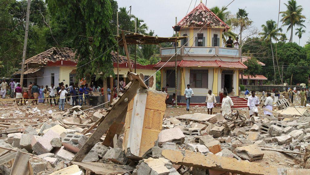 108 Orang Tewas Akibat Ledakan Kembang Api, Polisi India Tangkap 5 Orang