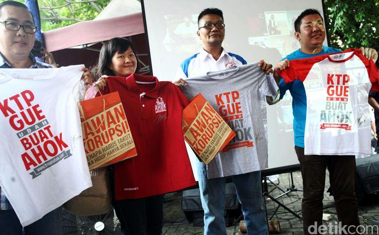 Teman Ahok: Ikuti Aturan KPU, Dukungan Ahok-Heru Bermeterai per Kelurahan