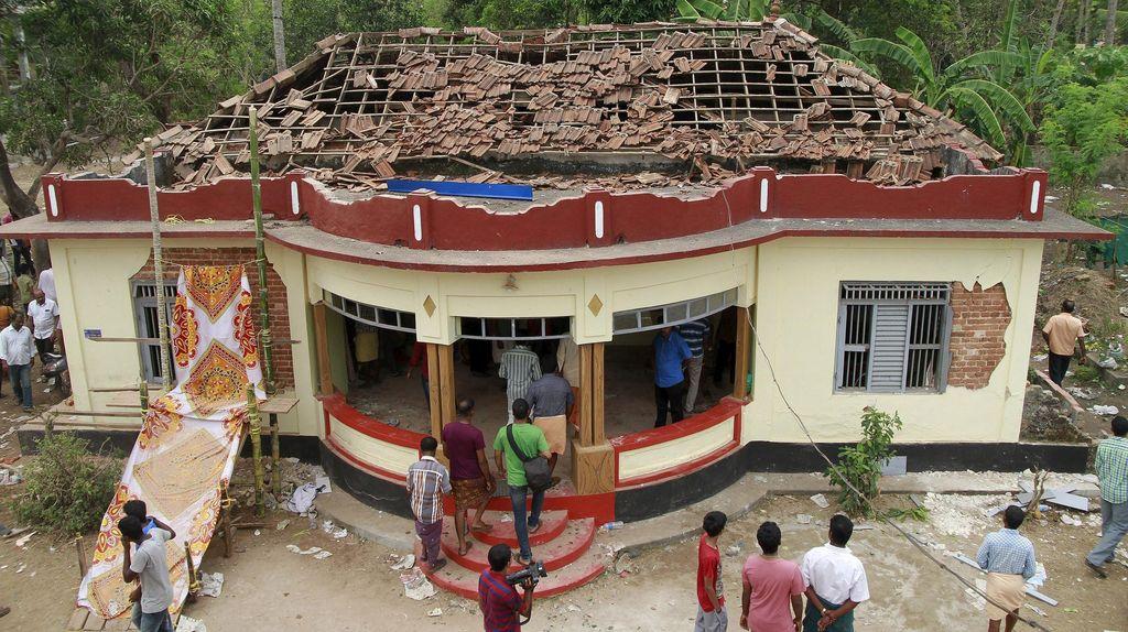 Tewaskan 106 Orang, Pertunjukan Kembang Api di Kuil India Tak Dapat Izin