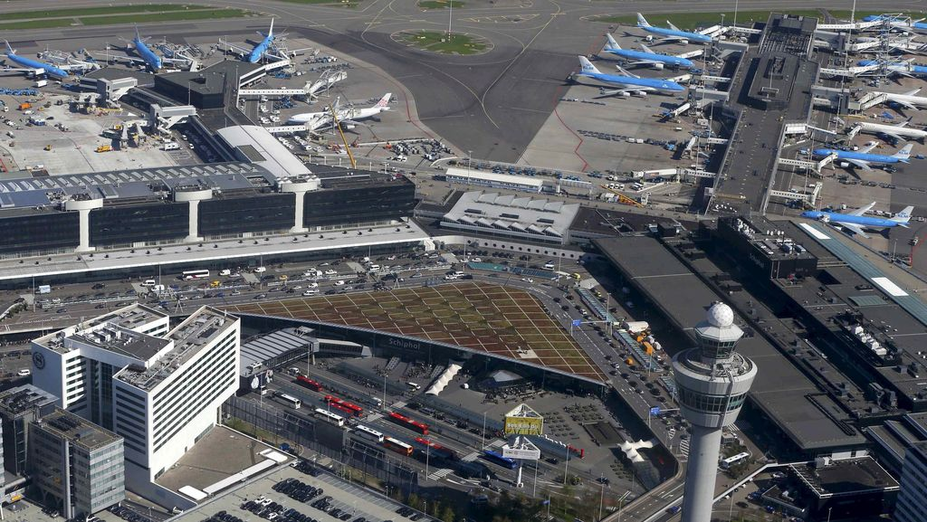 Ada Peringatan Keamanan di Bandara Schiphol, 1 Orang Ditangkap