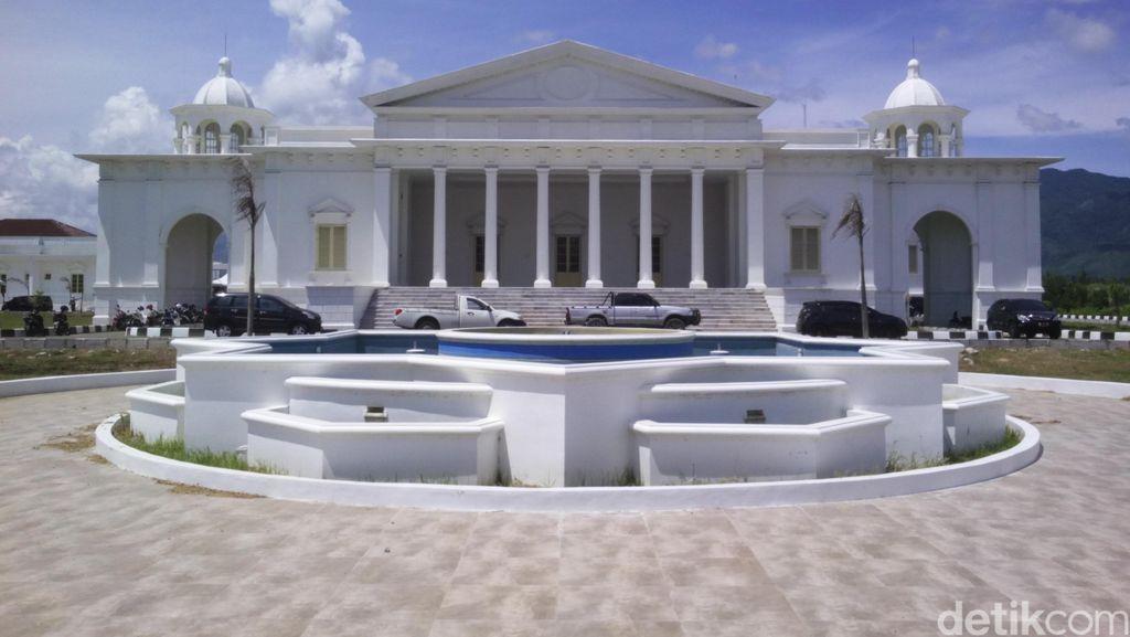 Megahnya Gedung Putih di Aceh, Tempat Wali Nanggroe Berkantor