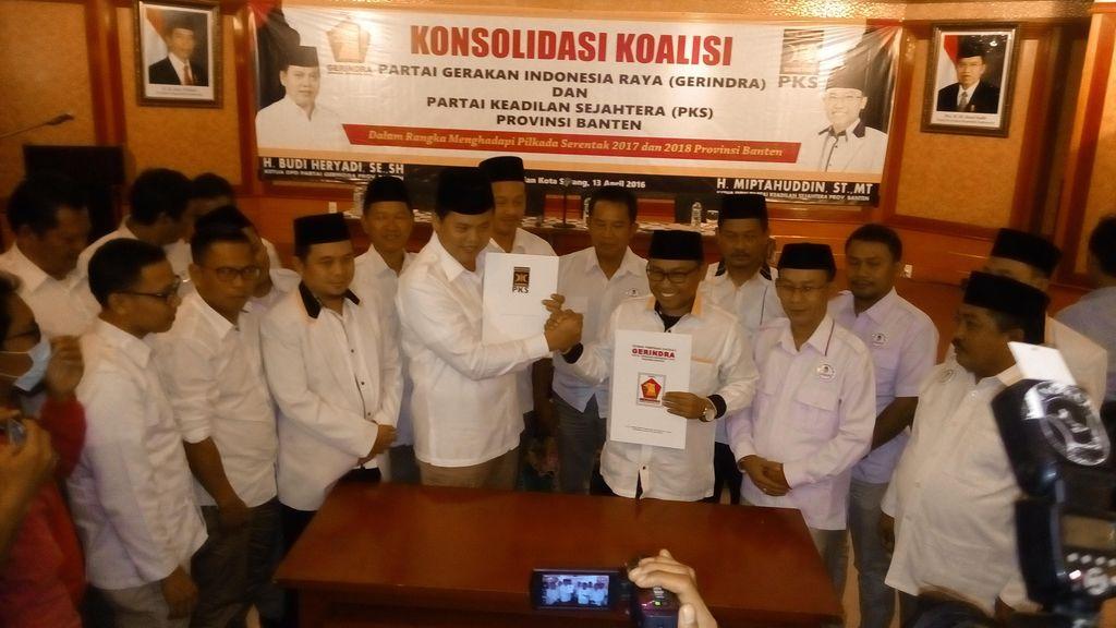 Gerindra-PKS Koalisi di Pilgub Banten 2017, Siapa yang Diusung?