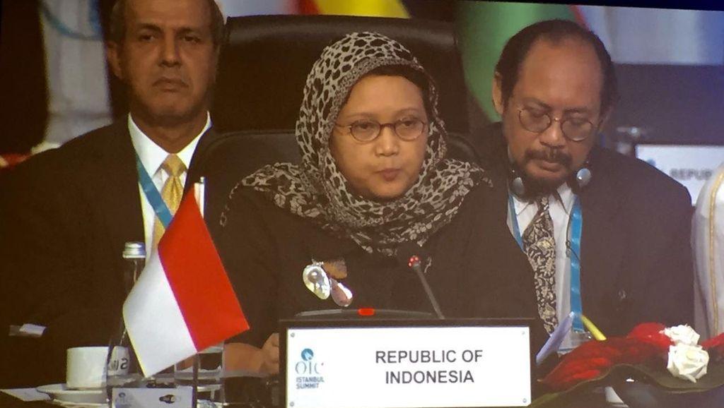 Menlu: Indonesia Jadi Inisiator Pembentukan Kelompok Perdamaian di OKI