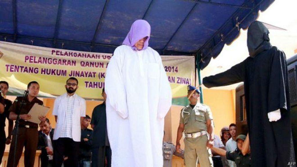 Dinas Syariat Aceh: Hukuman Cambuk Untuk Non Muslim Atas Dasar Sukarela