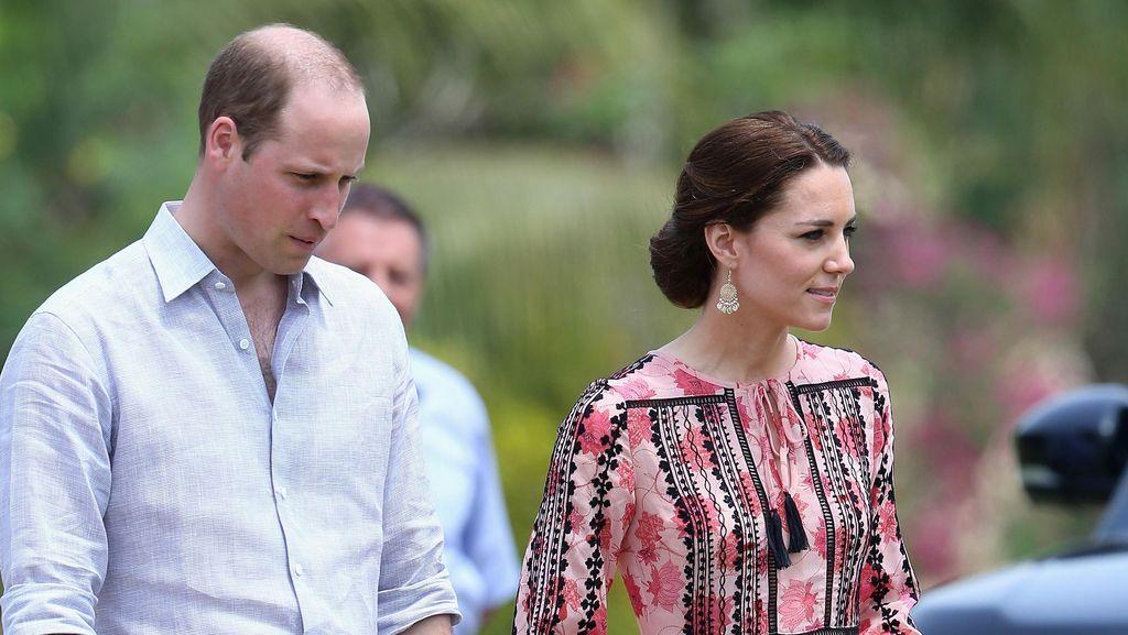 Sudah Mulai Nakal, Pangeran George Tak Ikut Kate dan William ke India