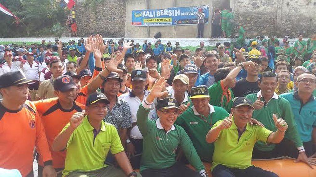 Festival Kali Bersih, Bupati Anas: Jadikan Sungai Halaman Rumah yang Bersih