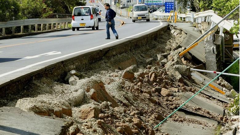 Korban Tewas Gempa Jepang Bertambah Jadi 18 Orang, 1.500 Lainnya Terluka