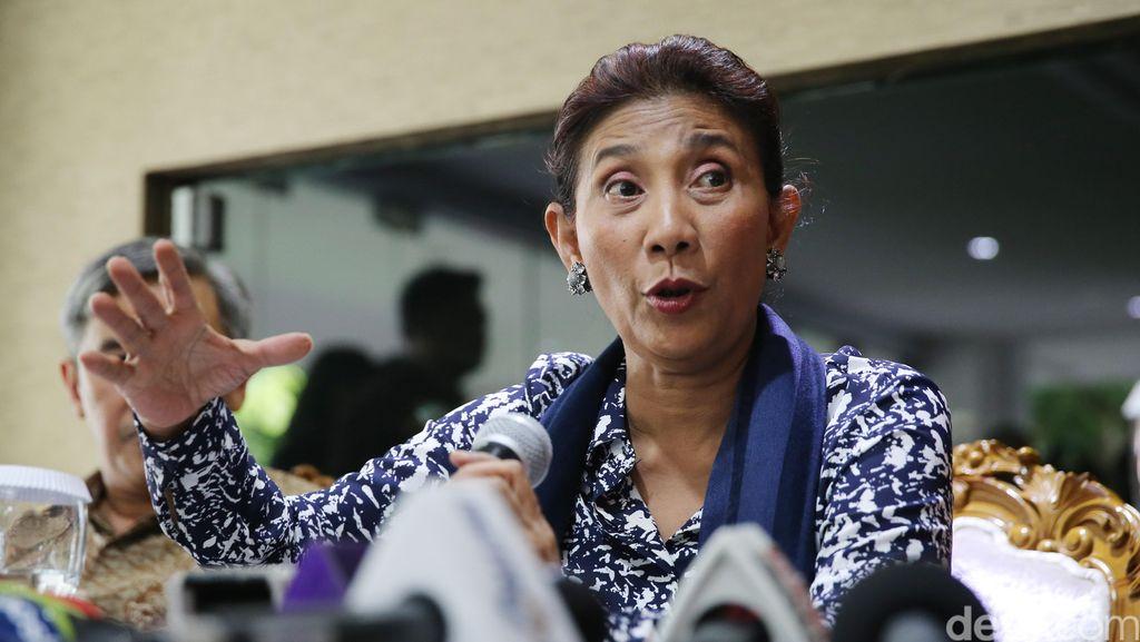 Soal Penangkapan Kapal Hua Li 8, Susi: Tidak Ada Penahanan ABK