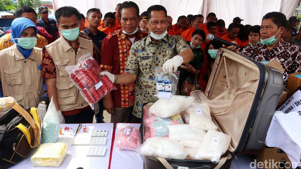 Bos Sabu 56 Kg Akui Sudah 3 Kali Beraksi Rute Malaysia-Indonesia