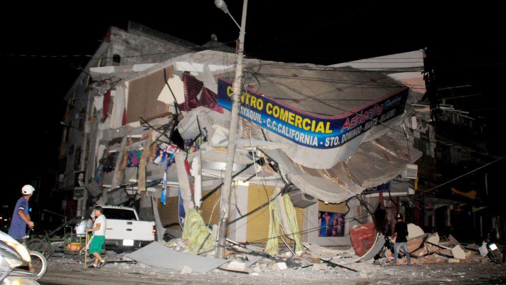 Kemlu: Tidak Ada WNI Jadi Korban Gempa 7,4 SR di Ekuador