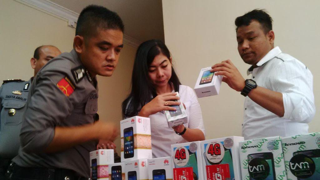 Polresta Barelang Kepri Gagalkan Penyelundupan Ribuan HP Asal Singapura