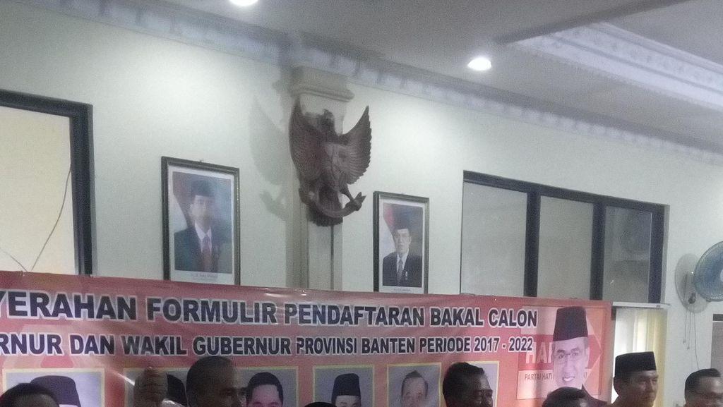 Jayabaya dan Andika Hazrumy Daftar Penjaringan Cagub Banten di Hanura